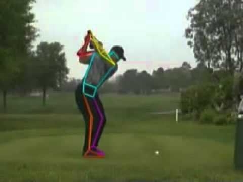 Golf Swing Technique | Tiger Woods near Perfect Form Analyzed by ...